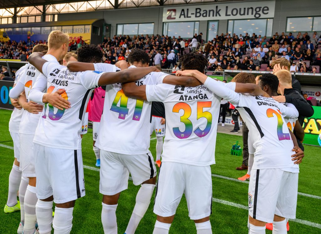 Rainbow jerseys boost the fight against homophobia
