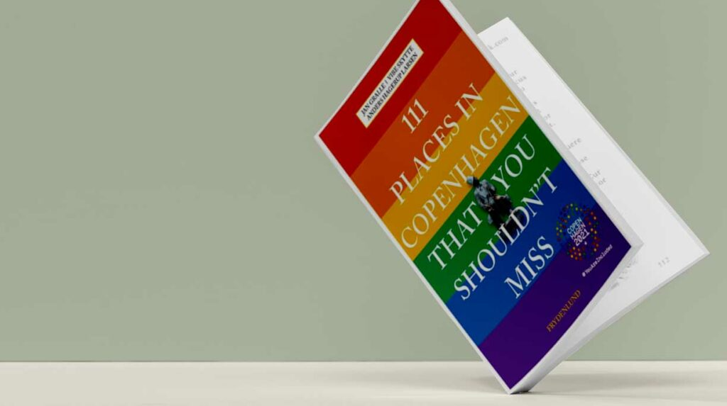The official guide book to Copenhagen 2021 shows the city's vibrant LGBTI+ community