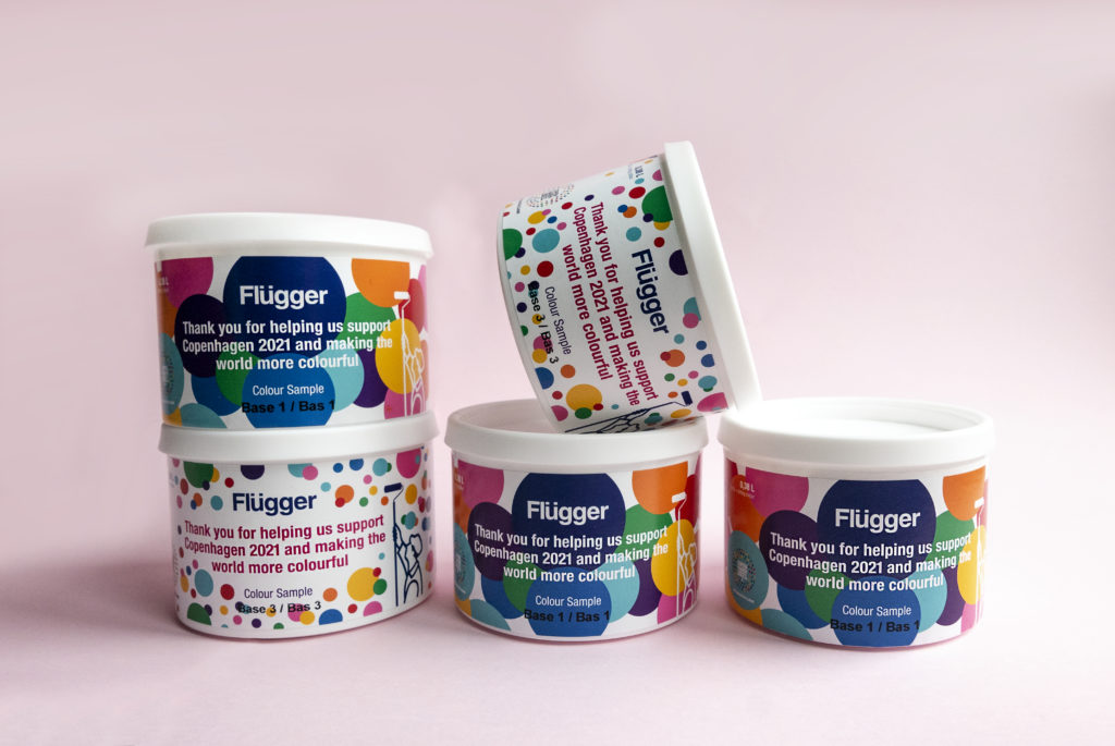 Flügger enters into colourful partnership with Copenhagen 2021