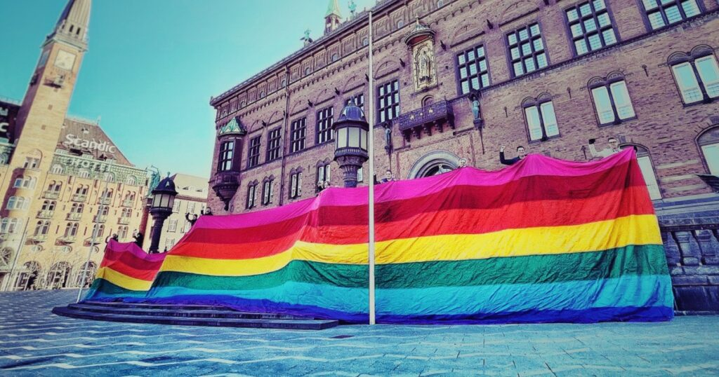 We promise 'hope for the future for LGBTI+ people everywhere'