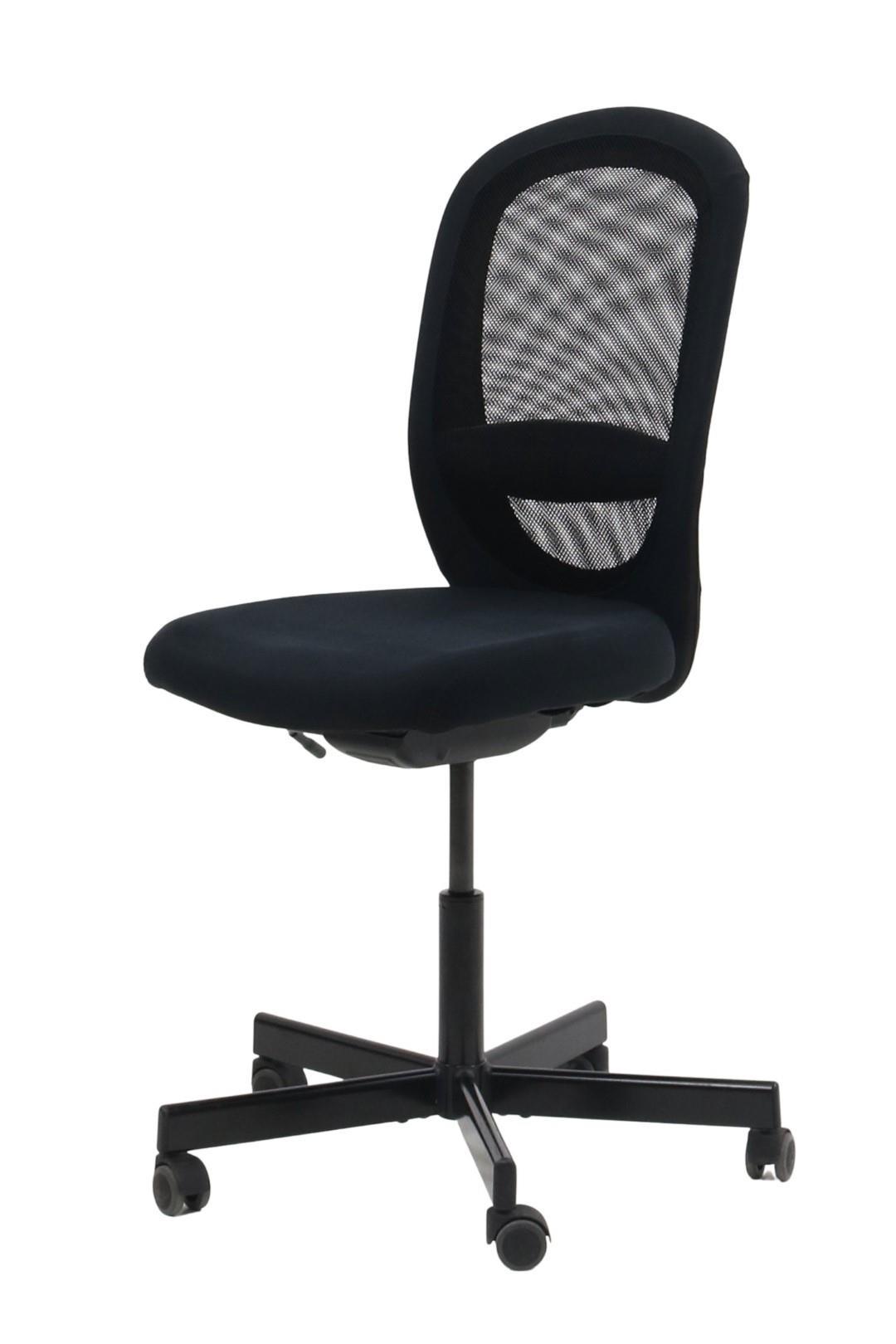 IKEA – FLINTAN – KONTORSTOL (SORT)