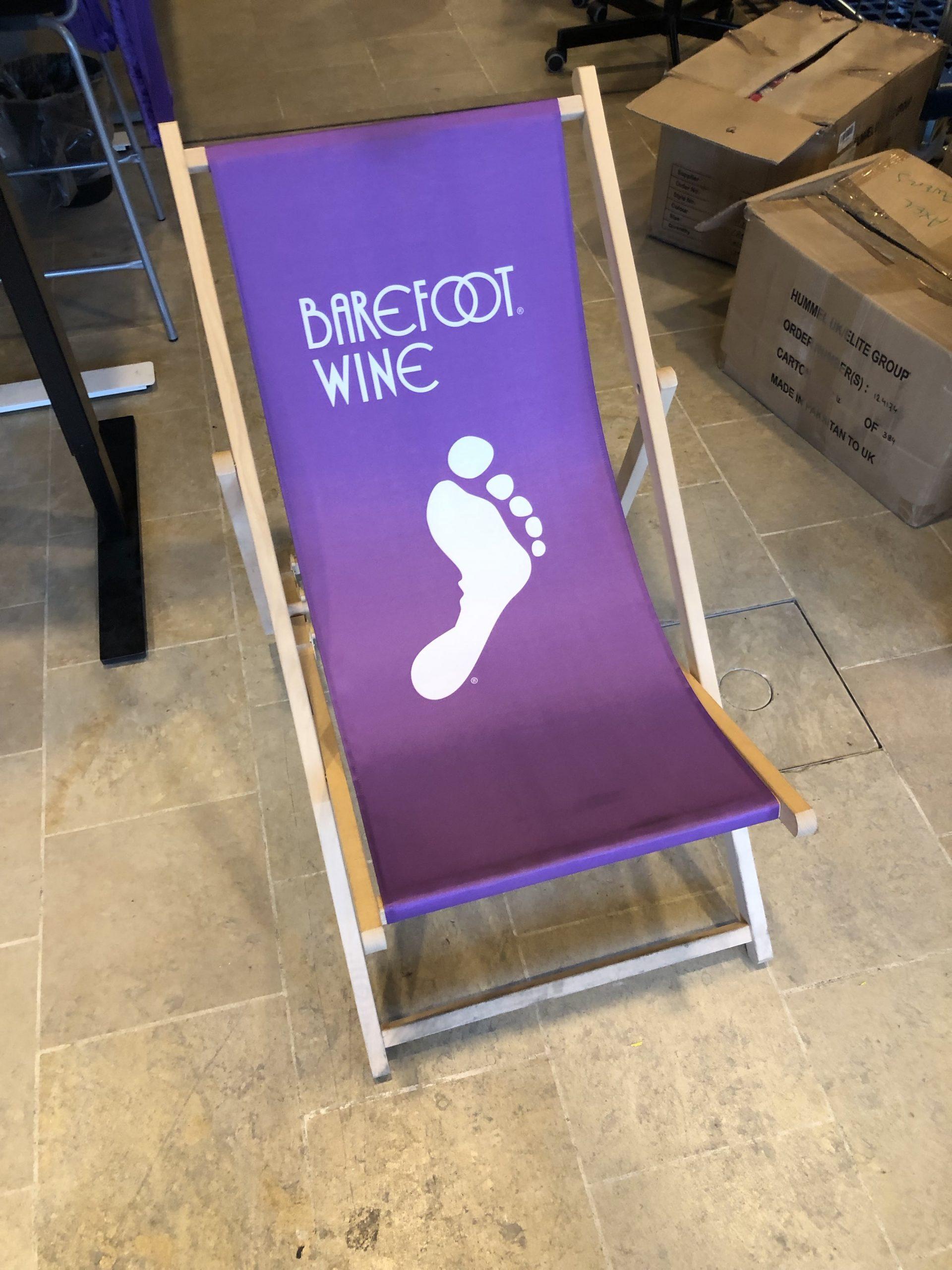 Deck Chair, Barefoot Wine