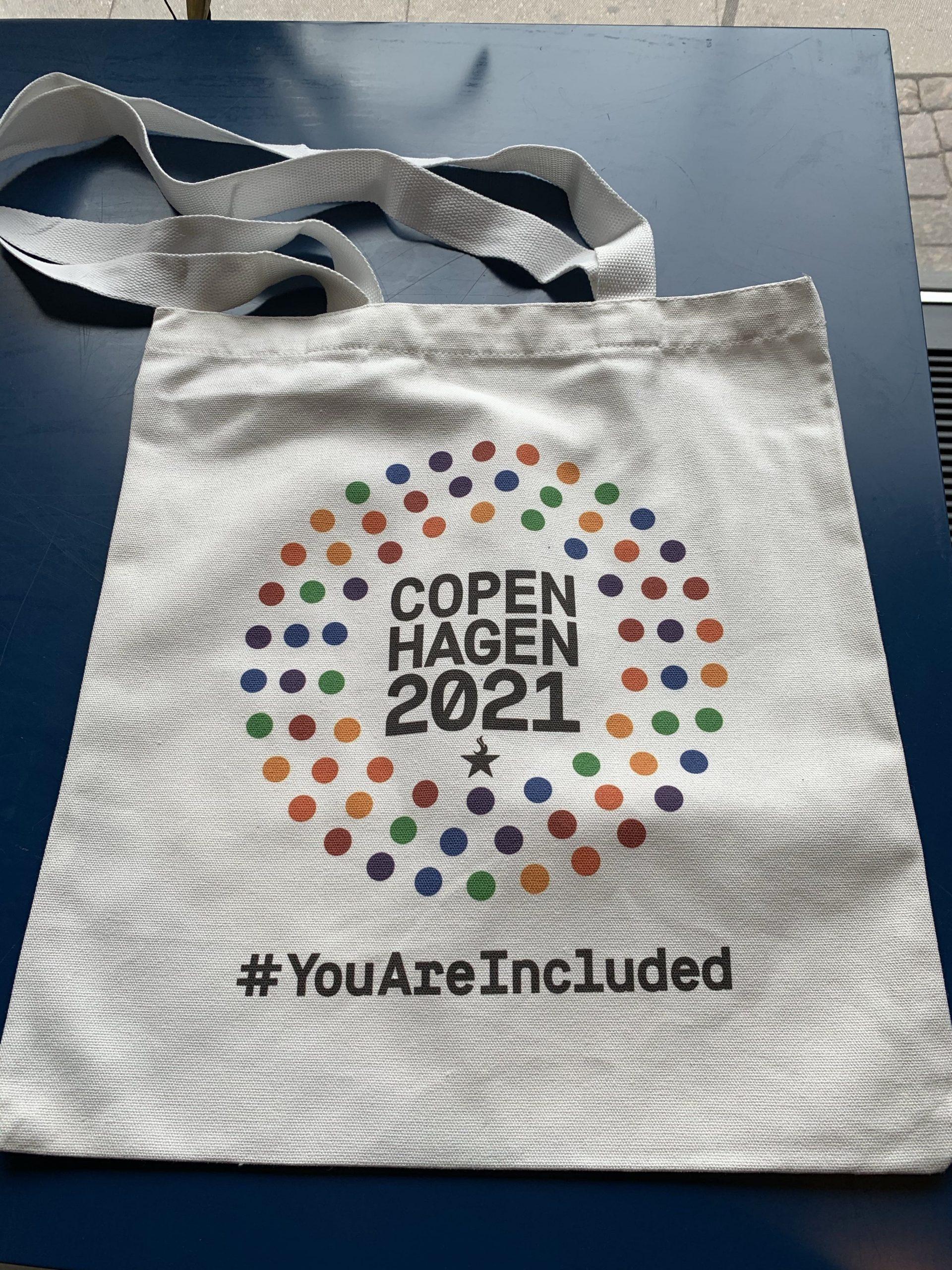 Copenhagen 2021 Tote bag / Net