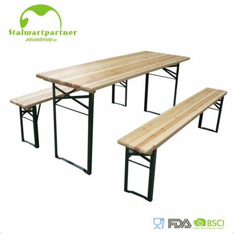 Table & Bench Set